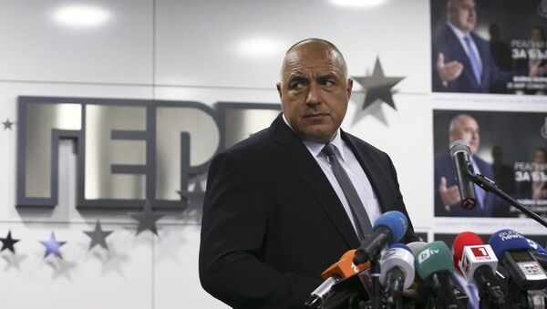 Former Bulgarian prime minister and leader of centre-right GERB party Boiko Borisov - Sputnik Mundo