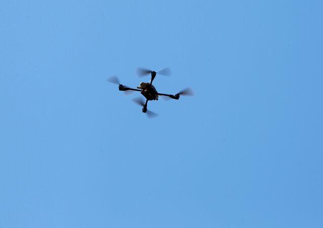 Un dron cuadrocóptero estadounidense (archivo)