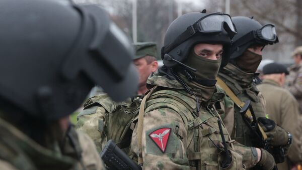 Soldados de la Guardia Nacional de Rusia - Sputnik Mundo