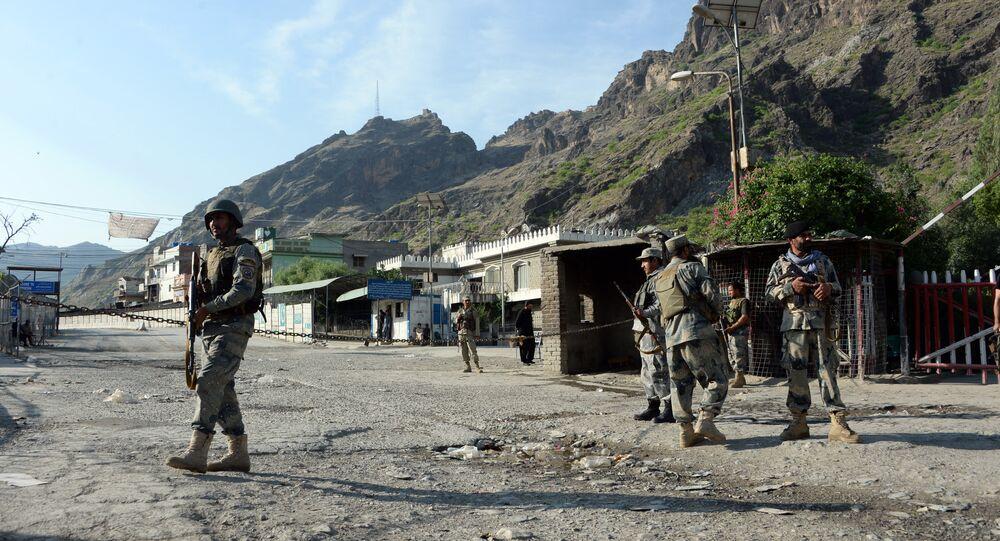 Frontera entre Afganistán y Pakistán (archivo)