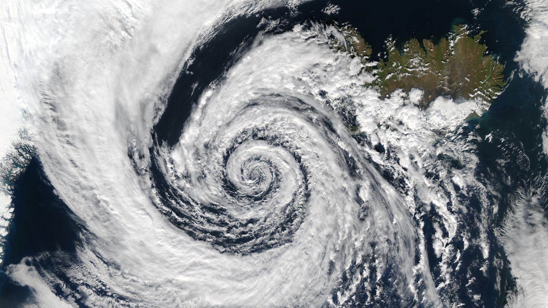 Ciclón (imagen referencial) - Sputnik Mundo, 1920, 18.06.2021