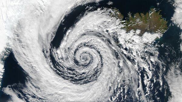 Ciclón (imagen referencial) - Sputnik Mundo