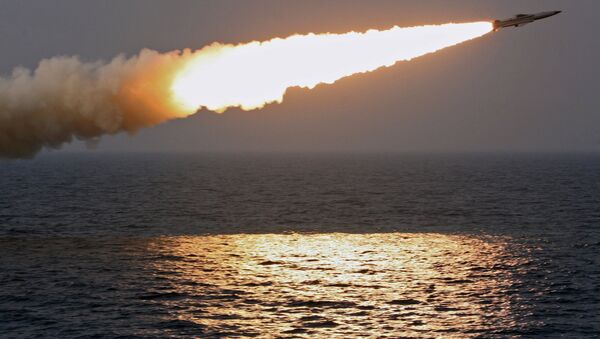 Misil hipersónico anti-buque Mosquit (imagen referencial) - Sputnik Mundo