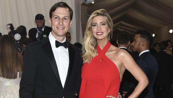 Jared Kushner and Ivanka Trump - Sputnik Mundo
