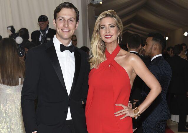 Ivanka Trump y Jared Kushner (archivo)