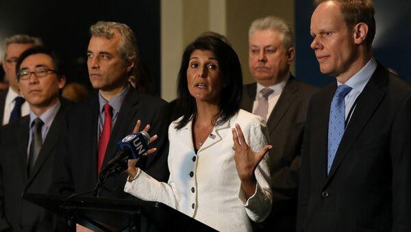 Nikki Haley, embajadora estadounidense ante la ONU - Sputnik Mundo