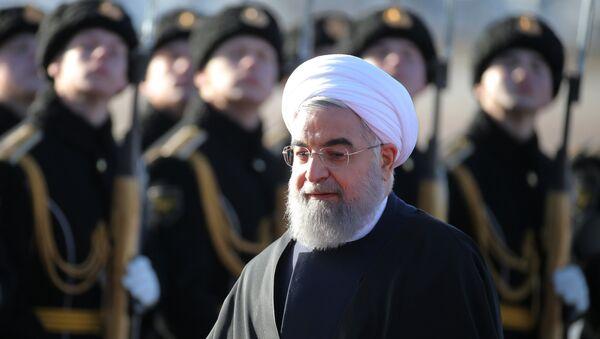 Прилет президента Ирана Х. Рухани в Москву - Sputnik Mundo