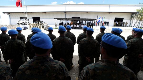 Las tropas de Chile en Haití - Sputnik Mundo
