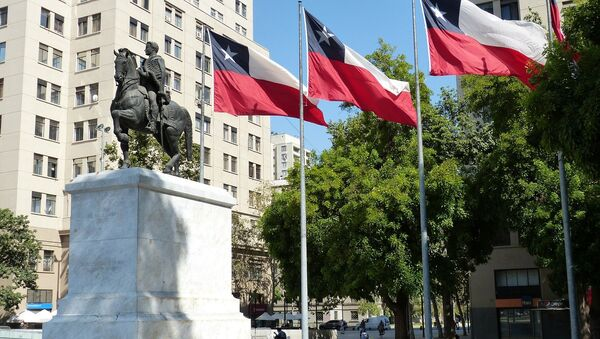 Santiago, la capital de Chile - Sputnik Mundo