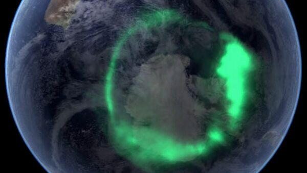 Aurora australis - Sputnik Mundo