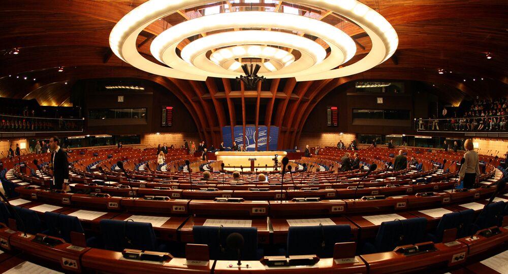Asamblea Parlamentaria del Consejo de Europa (PACE) en Estrasburgo (archivo)