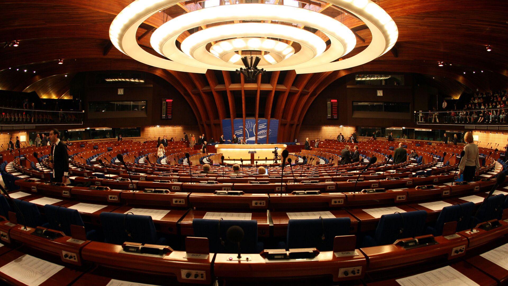 Asamblea Parlamentaria del Consejo de Europa (PACE) en Estrasburgo - Sputnik Mundo, 1920, 20.04.2021