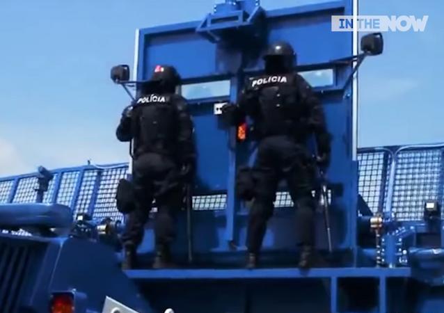 Bozena Riot New, vehículo blindado antidisturbios