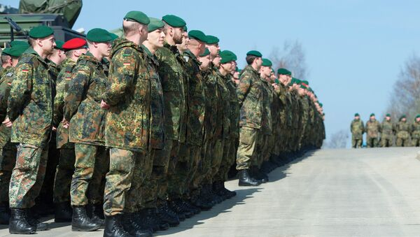 Militares del Ejército de Alemania (archivo) - Sputnik Mundo
