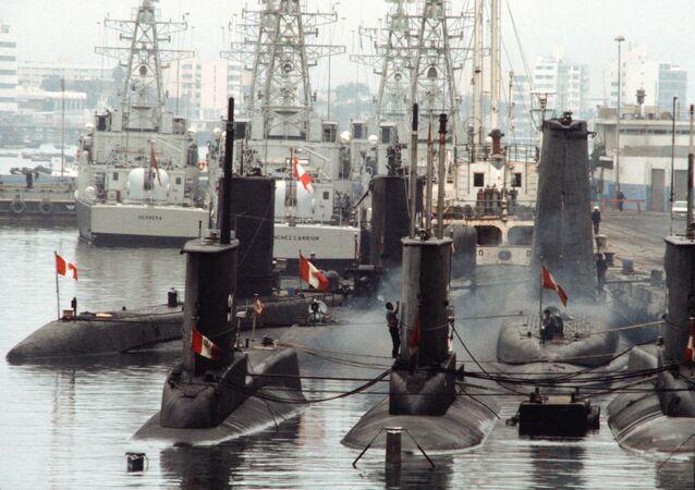 Base naval de Callao de Perú (archivo)