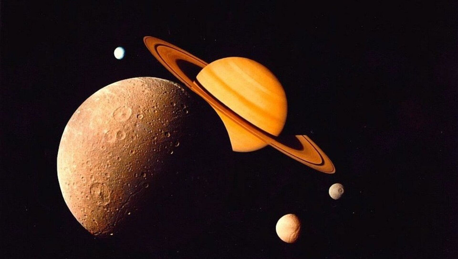 Titan, the largest Moon of Saturn - Sputnik Mundo, 1920, 28.10.2020