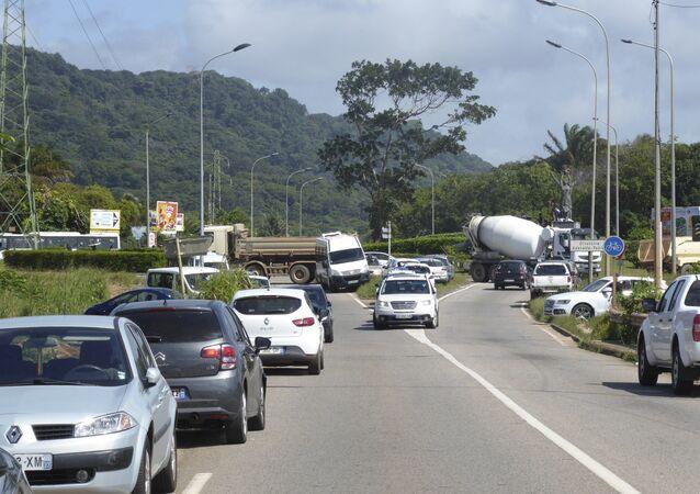 Protestas en la Guayana francesa