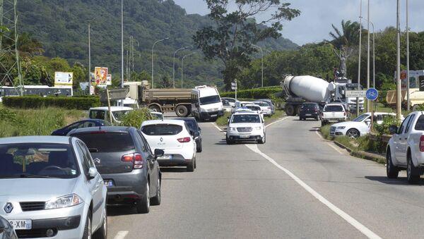 Protestas en la Guayana francesa - Sputnik Mundo