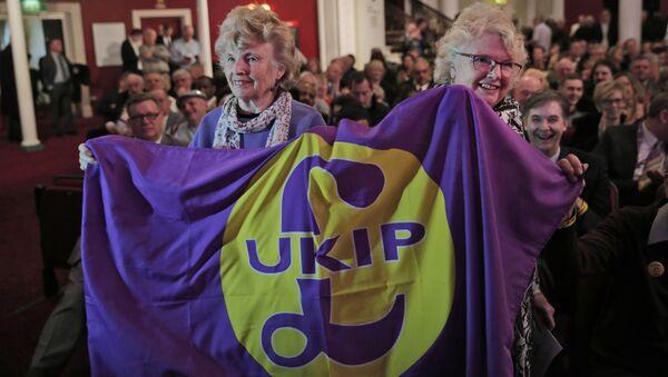 Partidarios de UKIP - Sputnik Mundo