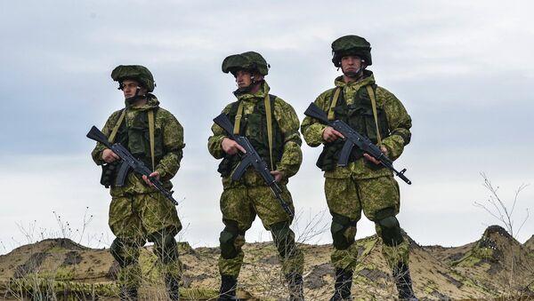 Soldados de las FFAA de Rusia - Sputnik Mundo