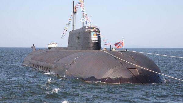 Submarino nuclear ruso (archivo) - Sputnik Mundo