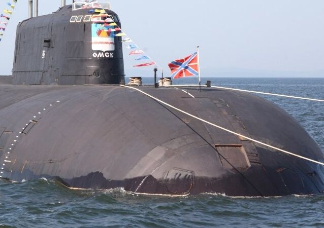 Submarino nuclear Omsk del proyecto 949A Antéi