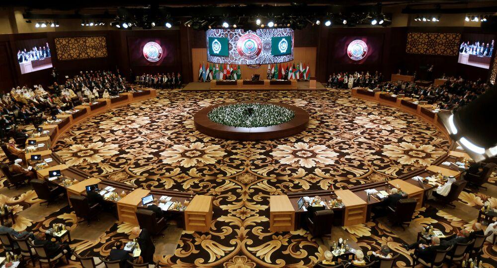 Reunión de la Liga Árabe (archivo)
