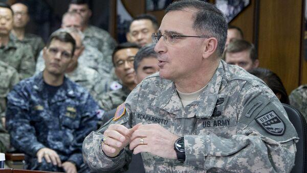 US Army Gen. Curtis Scaparrotti U.S. Army Gen. Curtis Scaparrotti - Sputnik Mundo