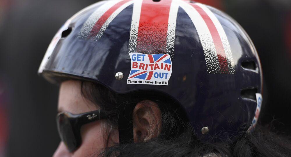 Partidario de Brexit (imagen referencial)