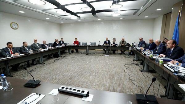 Consultas sirias en Ginebra - Sputnik Mundo