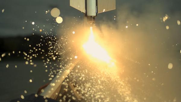 Propulsión a chorro en cámara lenta - Sputnik Mundo