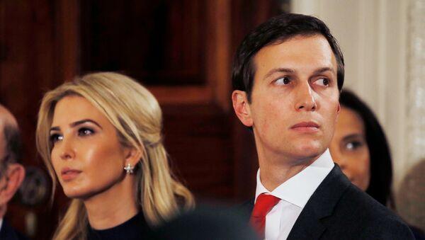 Ivanka Trump y Jared Kushner - Sputnik Mundo