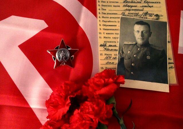 Condecoraciones soviéticas recuperadas por Eduardo Cruz