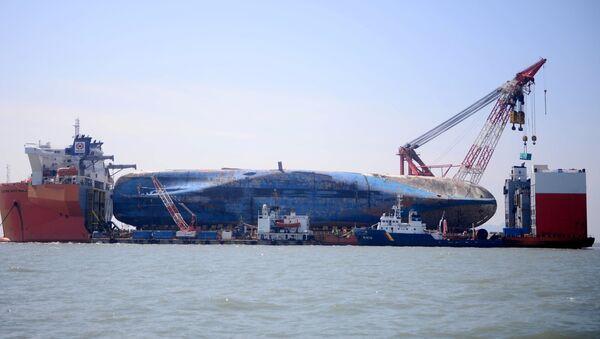 Ferry surcoreano Sewol - Sputnik Mundo