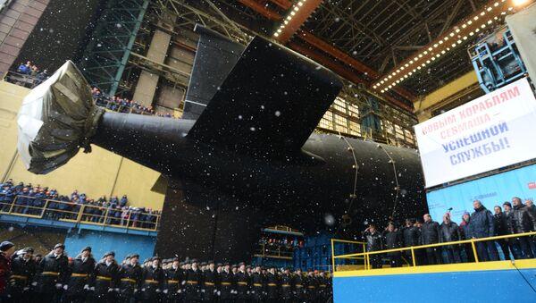El submarino nuclear ruso Kazan - Sputnik Mundo