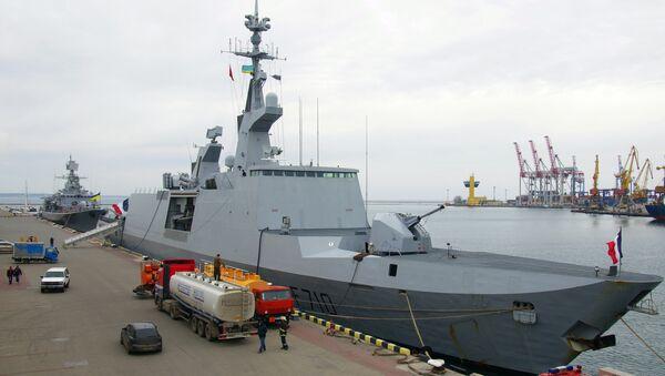 Fragata francesa La Fayette (archivo) - Sputnik Mundo