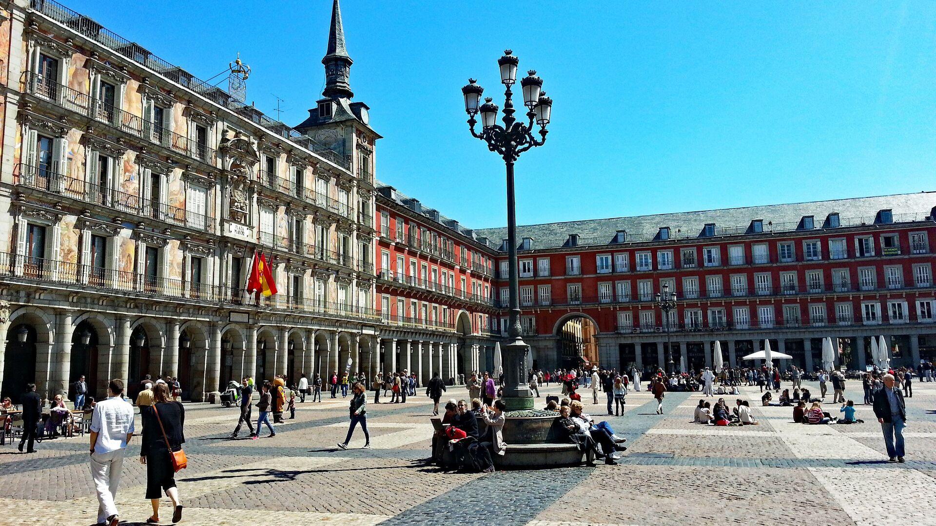 Madrid, la capital de España - Sputnik Mundo, 1920, 05.05.2021