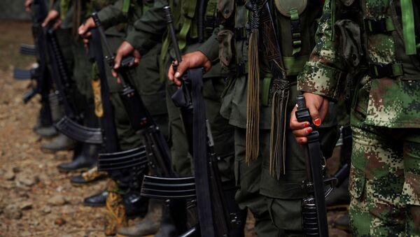 Los miembros de las FARC (archivo) - Sputnik Mundo
