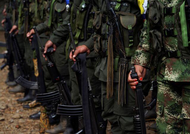 Los miembros de las antiguas FARC (archivo)