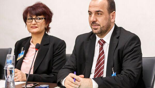 Naser al Hariri, jefe de la delegación del ACN - Sputnik Mundo