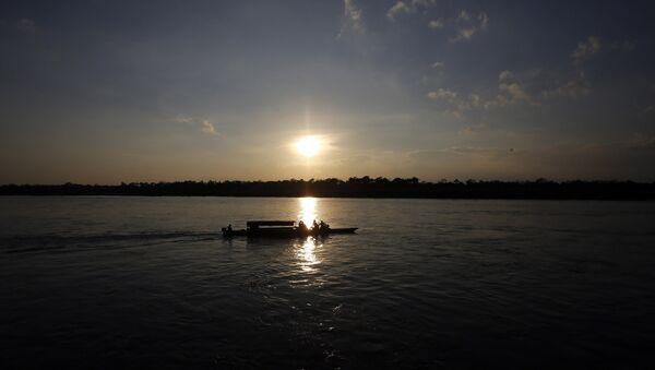 El río Putumayo (imagen referencial) - Sputnik Mundo