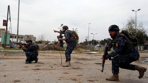 Policía de Irak (archivo) - Sputnik Mundo