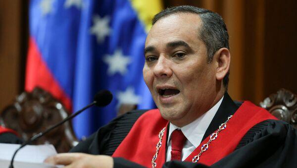Maikel Moreno, presidente del Tribunal Supremo de Venezuela (archivo) - Sputnik Mundo