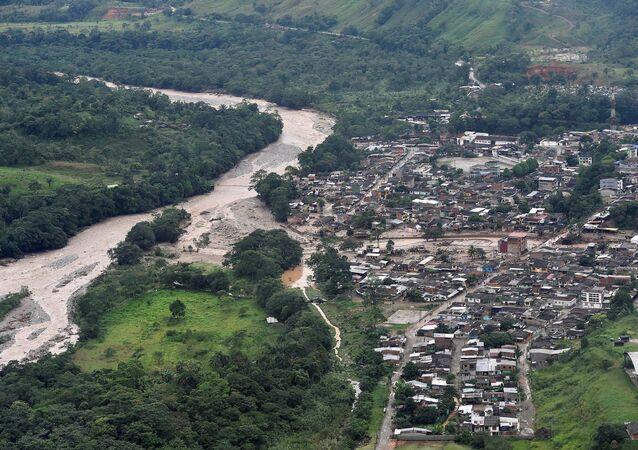 Avalancha de lodo en la ciudad colombiana de Mocoa