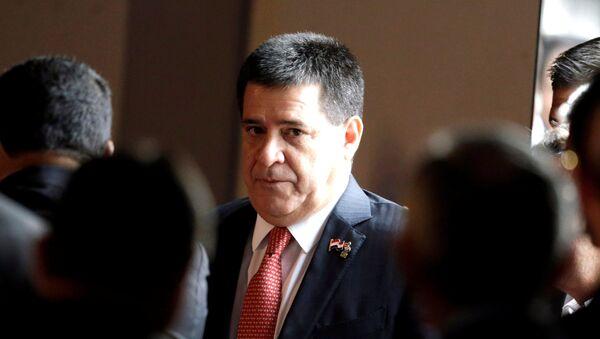 Horacio Cartes, presidente paraguayo - Sputnik Mundo