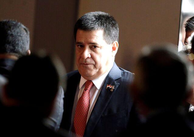 Horacio Cartes, expresidente paraguayo (archivo)