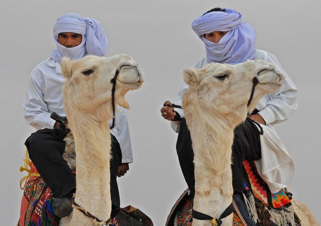 Los beduinos (imagen referencial)