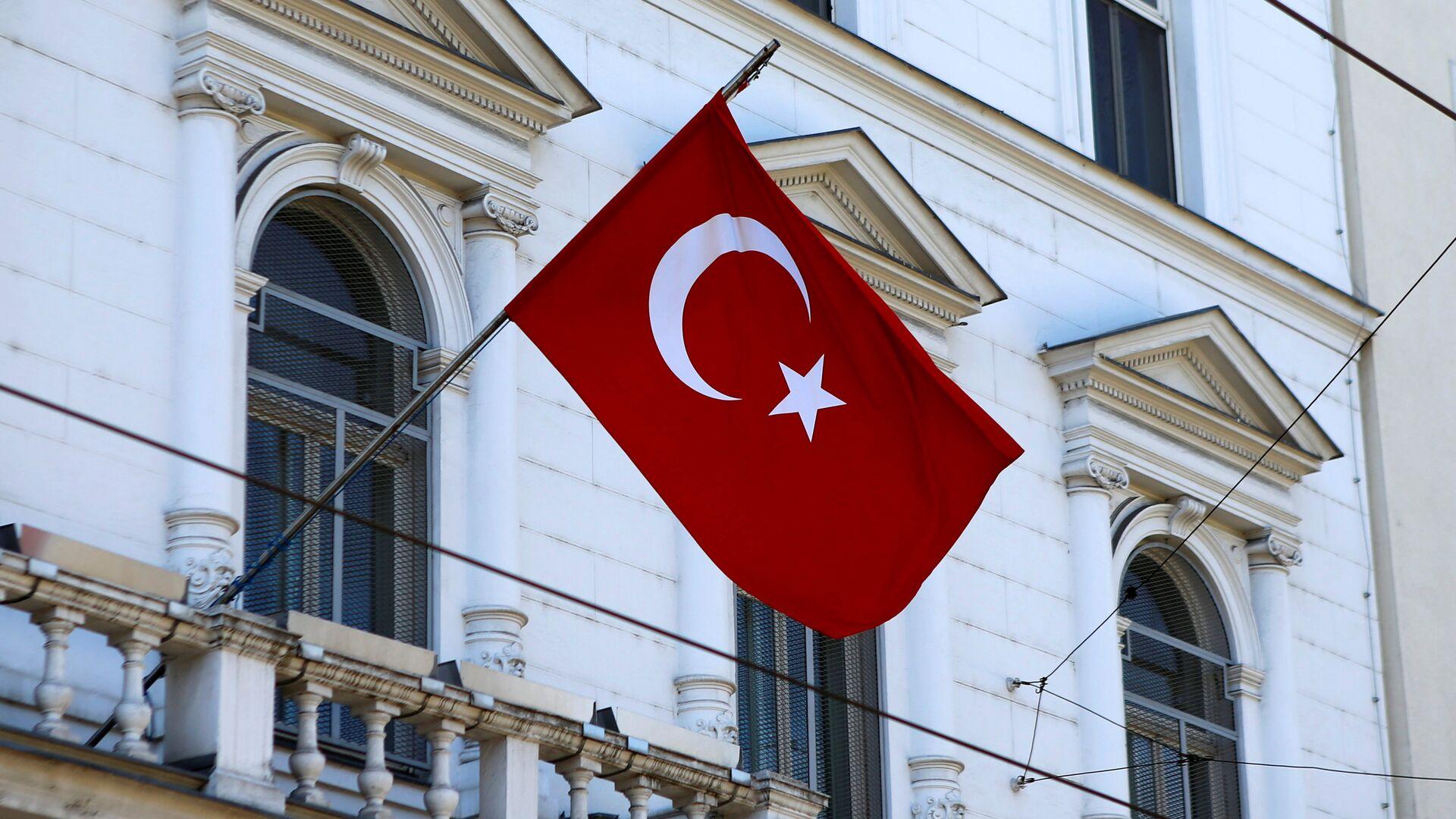 La bandera de Turquía - Sputnik Mundo, 1920, 23.06.2021