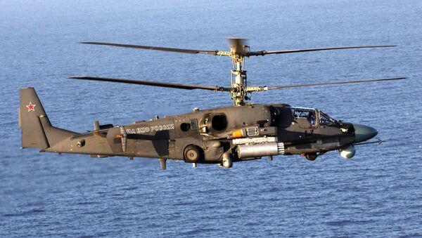 Helicóptero ruso Ka-52K Katran - Sputnik Mundo