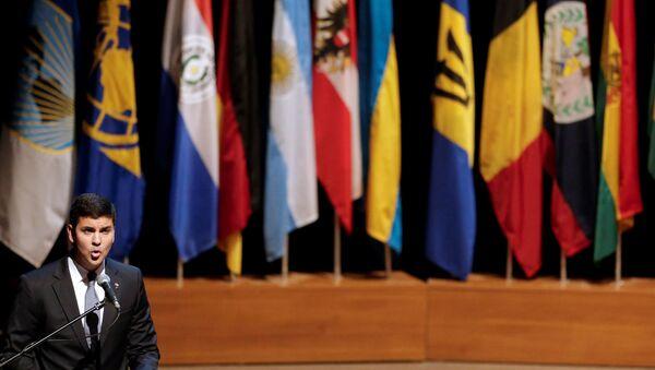 Ministro de Hacienda de Paraguay, Santiago Peña - Sputnik Mundo